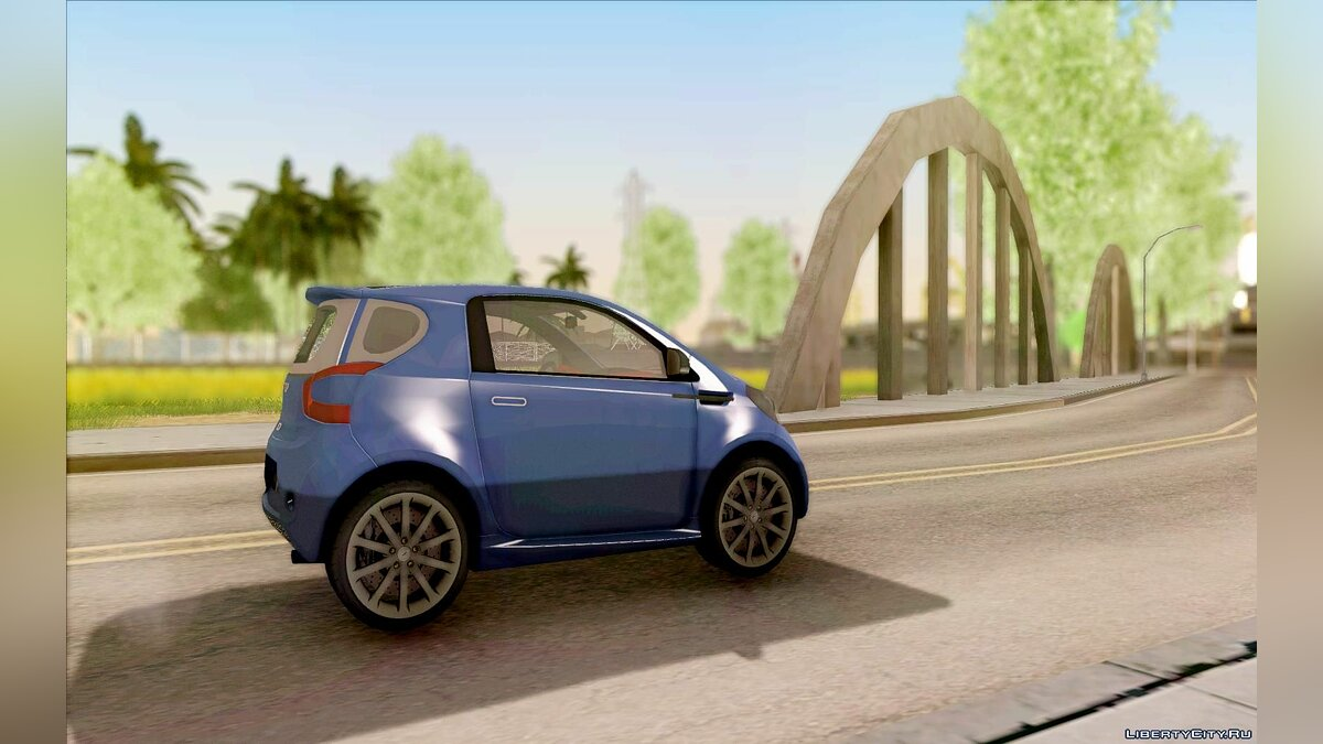 Aston Martin car Aston Martin Cygnet 2011 for GTA San Andreas