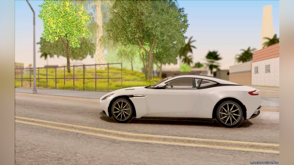 Aston Martin car 2017 Aston Martin DB11 for GTA San Andreas