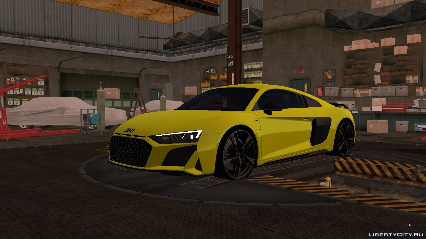 Audi R8 V10 Plus 2020 With Tuning For Gta San Andreas