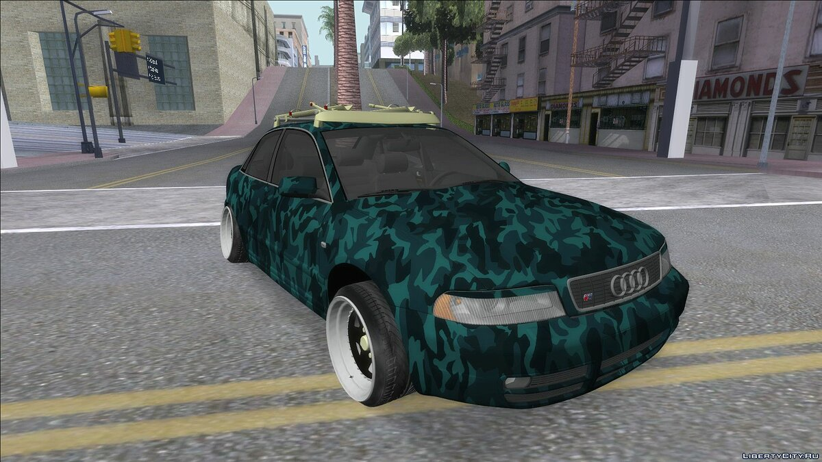 Audi car Audi C4 for GTA San Andreas
