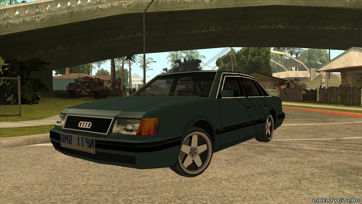 Audi car Audi 100 for GTA San Andreas