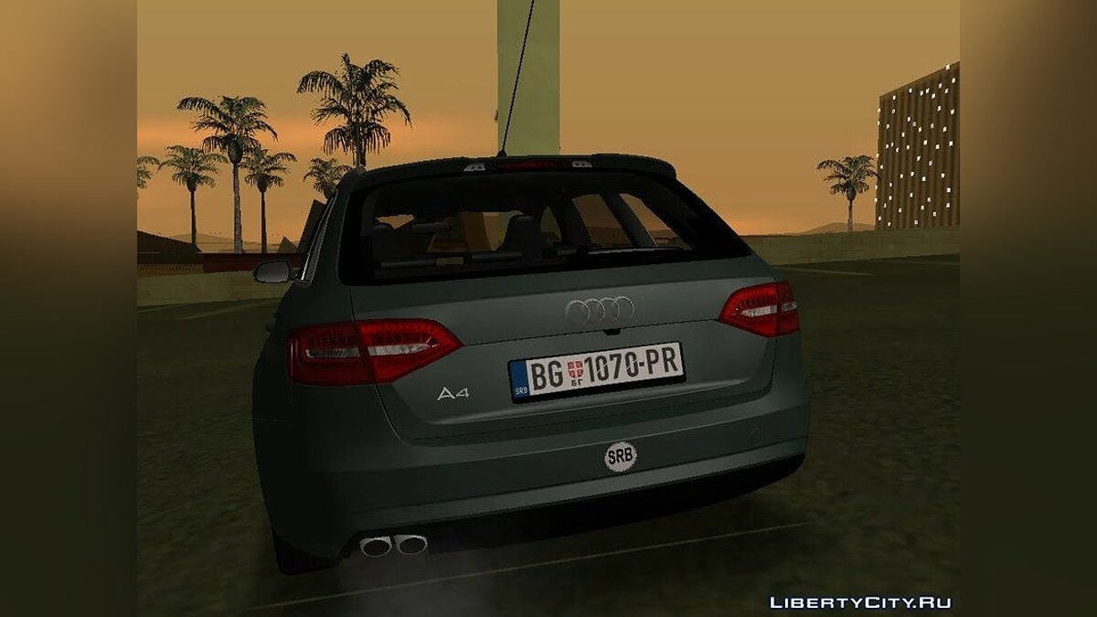 Audi car Audi A4 Avant for GTA San Andreas