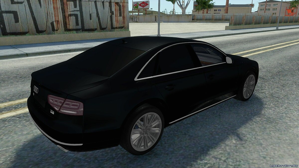 Audi car Audi A8 TFSI for GTA San Andreas