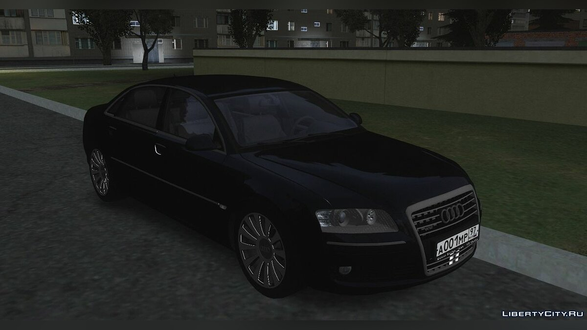 Audi car Audi A8 D3 (W12) for GTA San Andreas