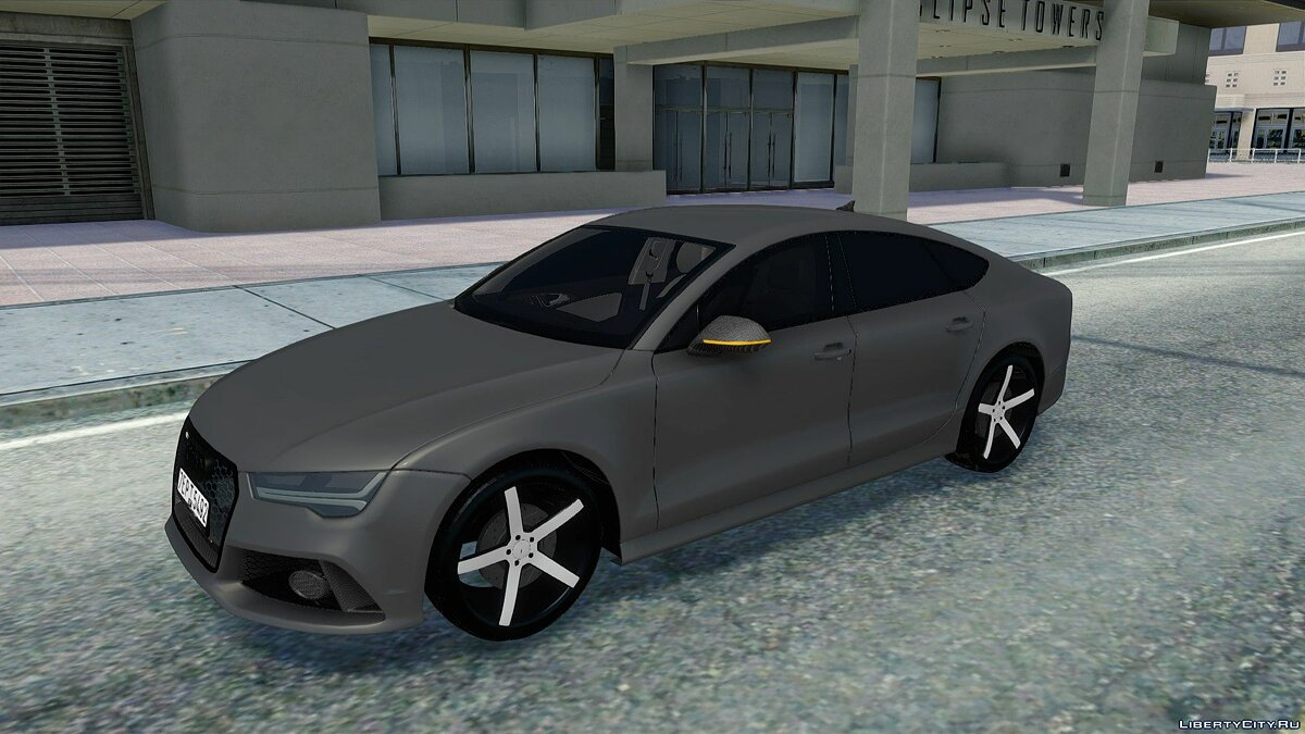 Audi car Audi RS7 for GTA San Andreas