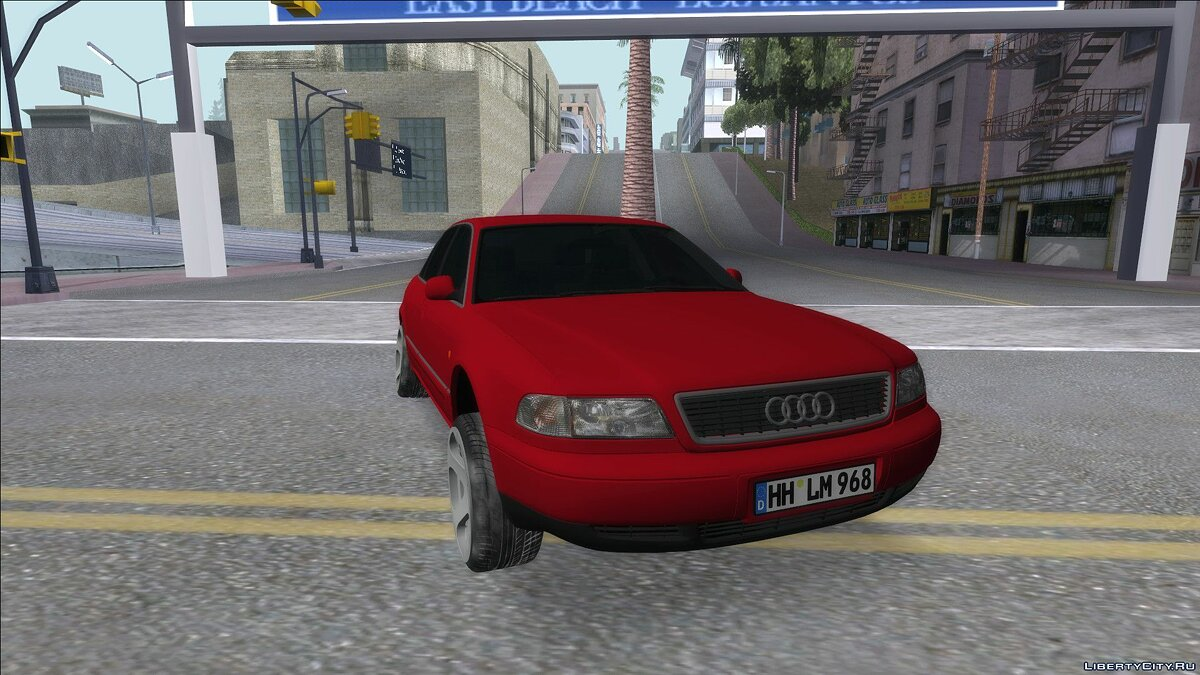 Audi car Audi A8 2002 for GTA San Andreas