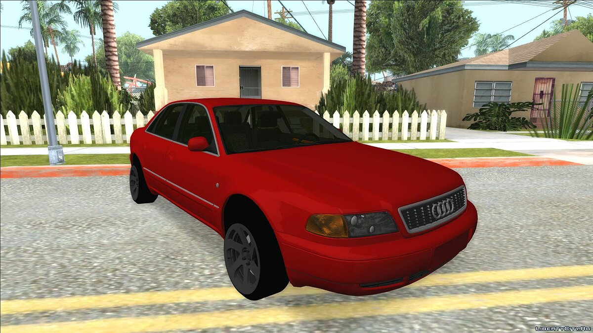 Audi car Audi A8 2000 for GTA San Andreas