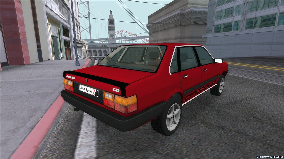 Audi car Audi 80 B2 for GTA San Andreas