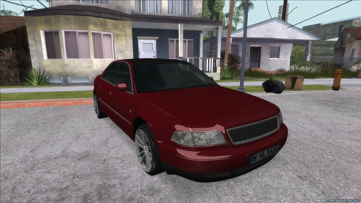 Audi car Audi a8 for GTA San Andreas