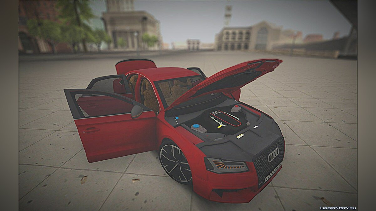 Audi car Audi S8 TMT for GTA San Andreas