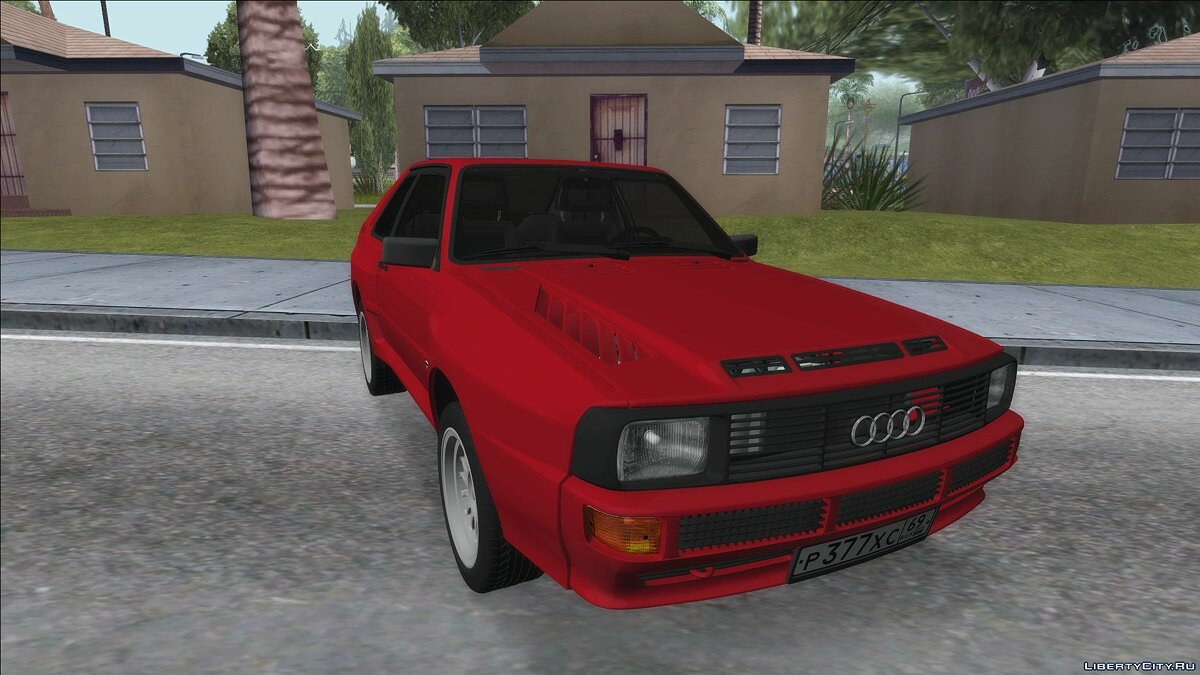Audi car Audi Sport Quattro 1983 for GTA San Andreas