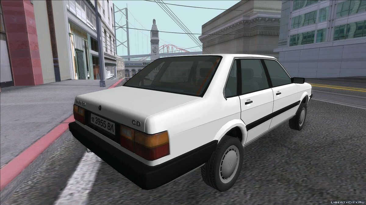 Audi car Audi 80 1987 for GTA San Andreas