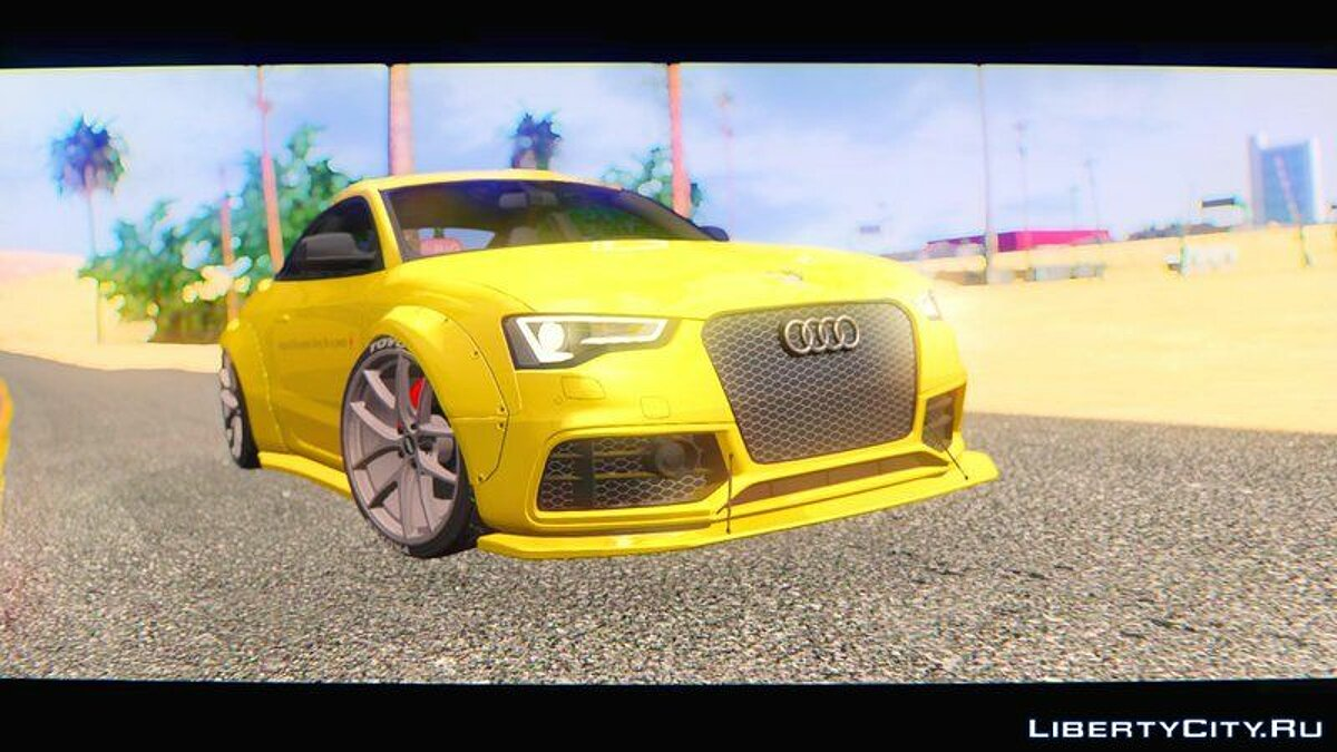 Audi car Audi RS5 Liberty Walk Works 2014 for GTA San Andreas