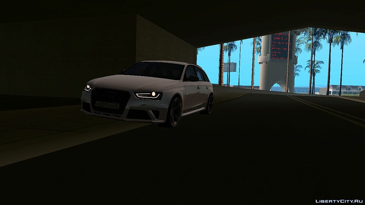 Audi car Audi RS 4 with tuning for GTA San Andreas