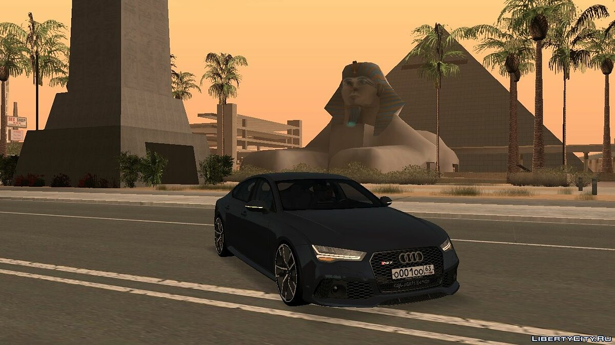 Audi car Audi RS 7 Quattro with tuning for GTA San Andreas