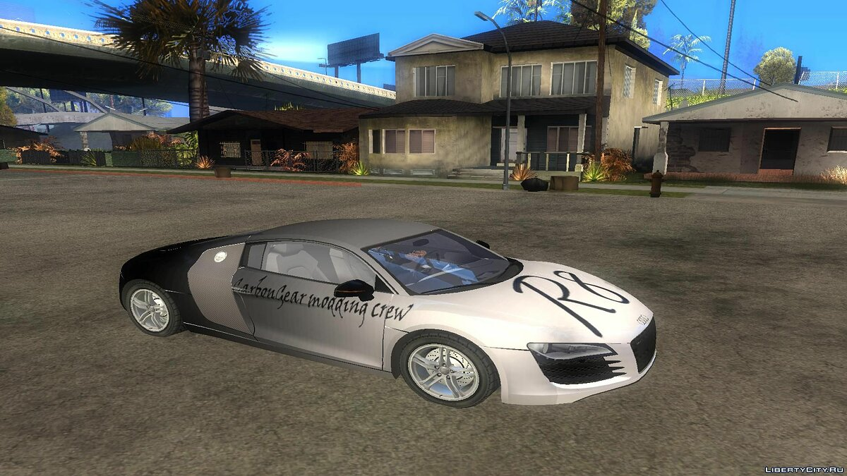 Audi R8 for GTA San Andreas - screenshot #5