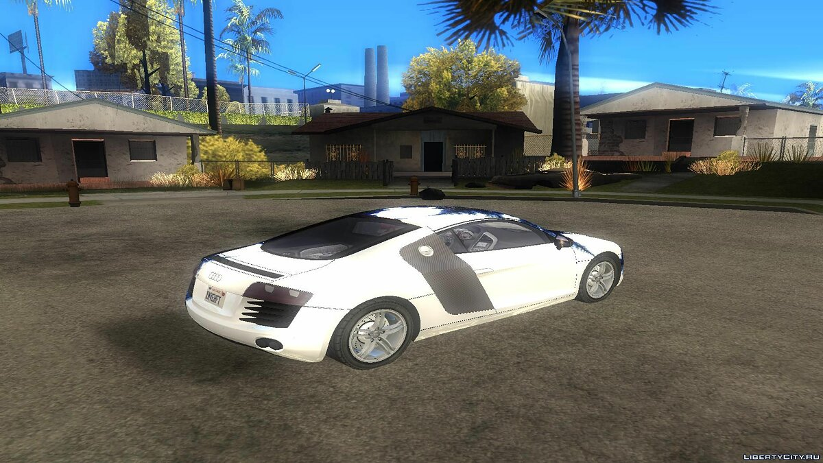 Audi R8 for GTA San Andreas - screenshot #3