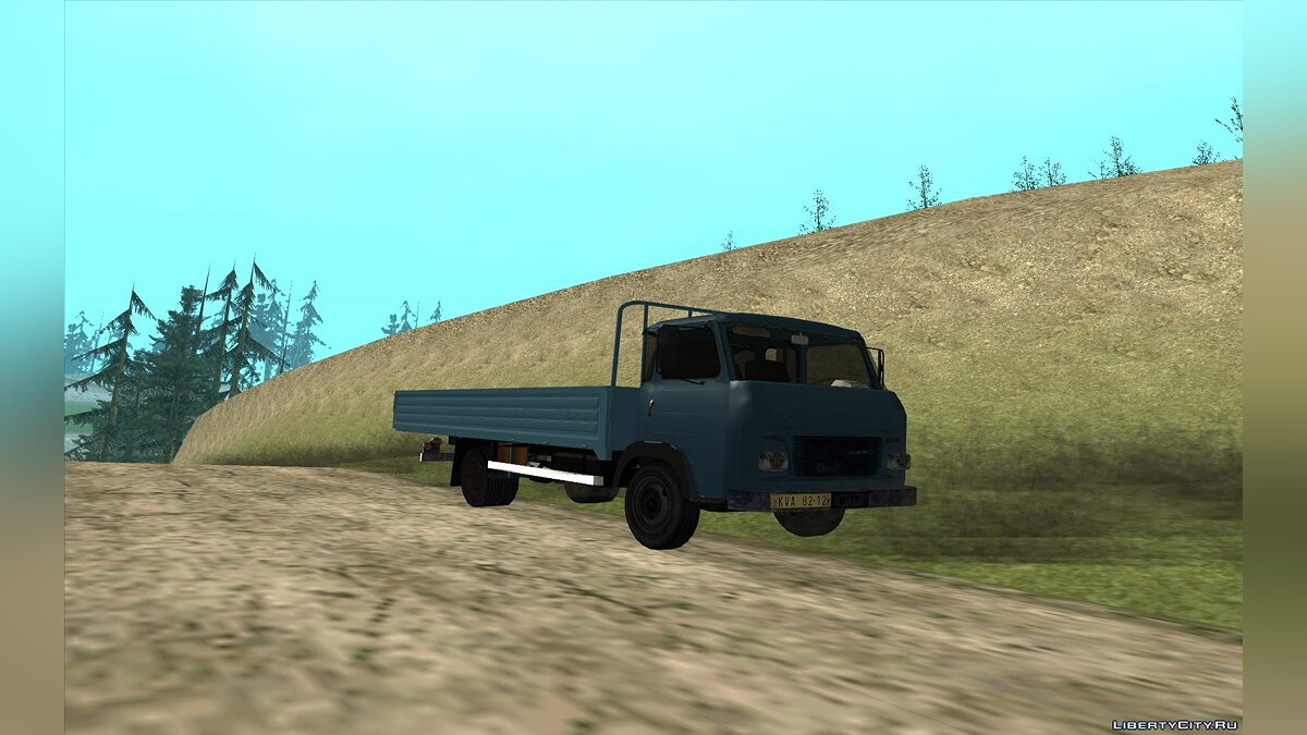 Avia car Avia A31 Truck for GTA San Andreas