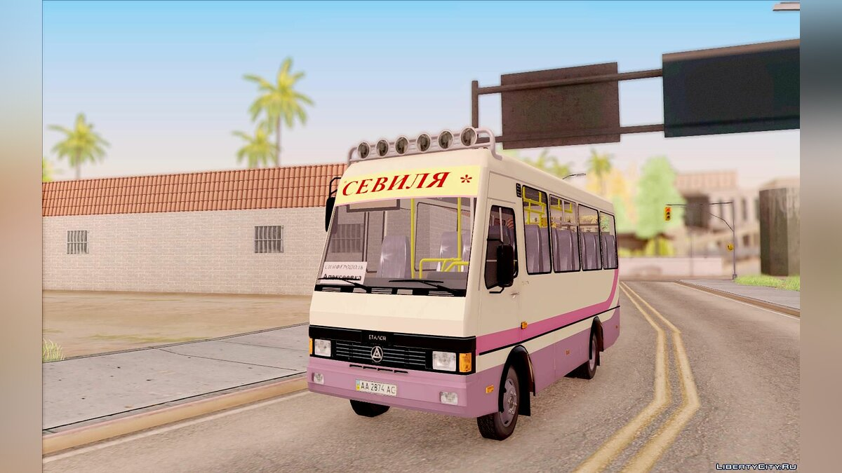 BAZ car BAZ A079.07 for GTA San Andreas