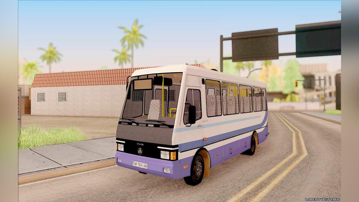 BAZ car BAZ A079 Tourist for GTA San Andreas