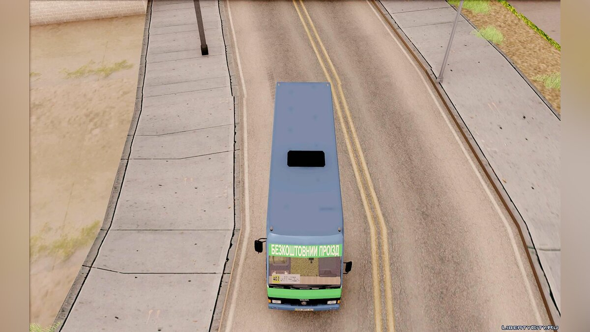 BAZ car BASE A079.14 Reference for GTA San Andreas