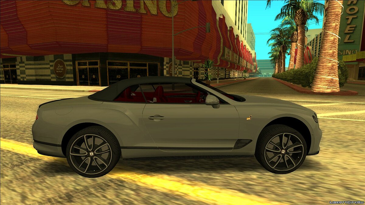 Bentley car Bentley continental gt for GTA San Andreas