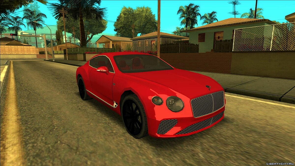 Bentley car 2018 Bentley Continental GT First Edition for GTA San Andreas