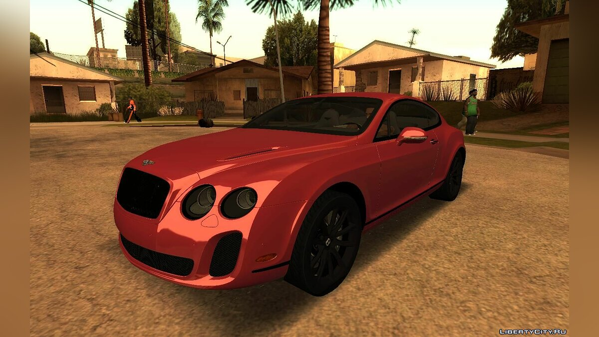Bentley car Bentley Continental SuperSports for GTA San Andreas