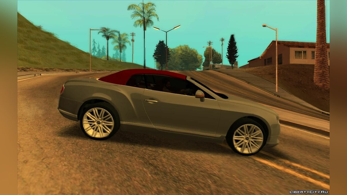 Bentley car Bentley Continental GT 2014 for GTA San Andreas