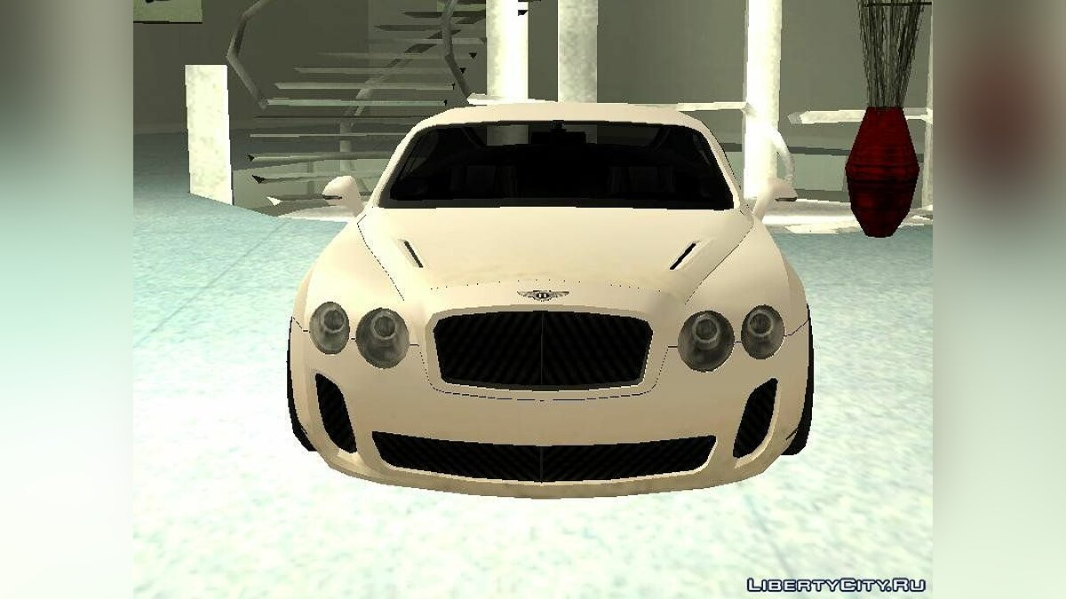 Bentley car Bentley Continental Supersports 2010 for GTA San Andreas