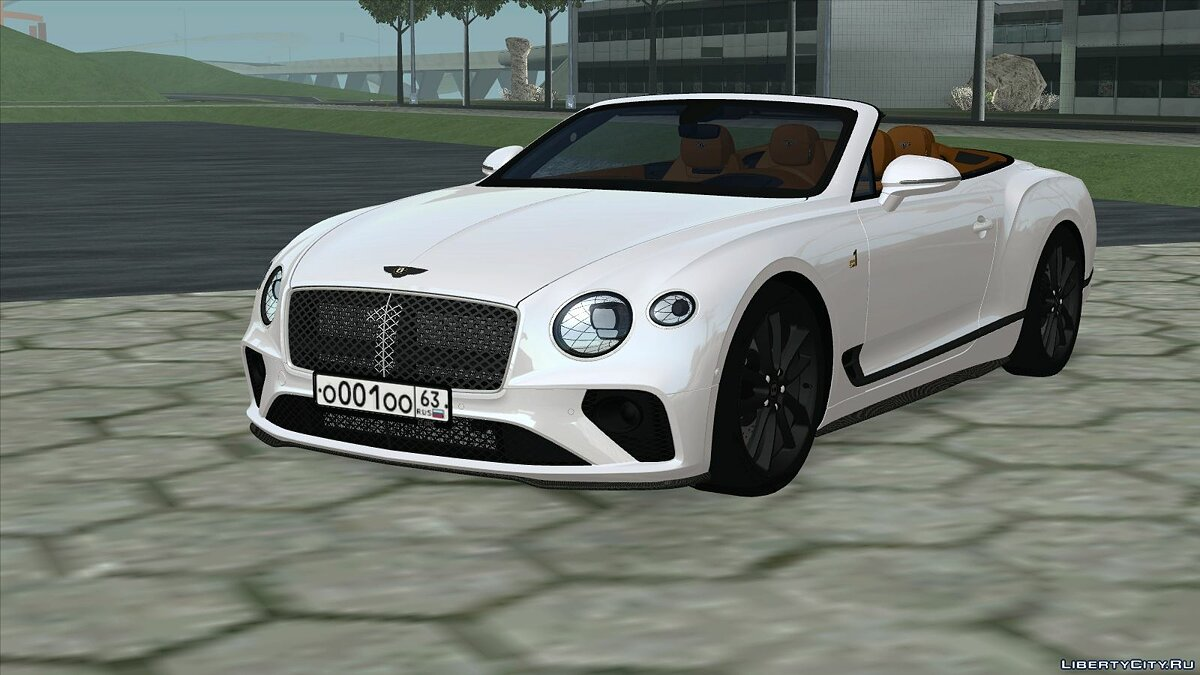 Bentley car Bentley Continental GT Number 1 Edition '19 for GTA San Andreas