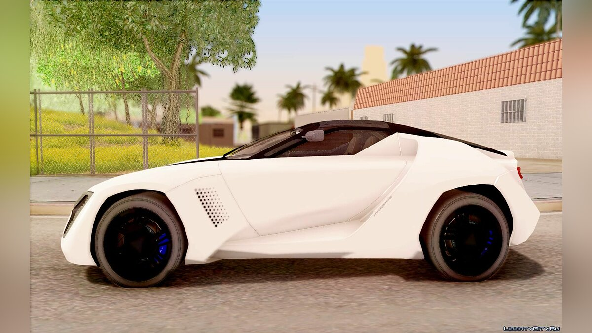 Bertone car Bertone Mantide for GTA San Andreas