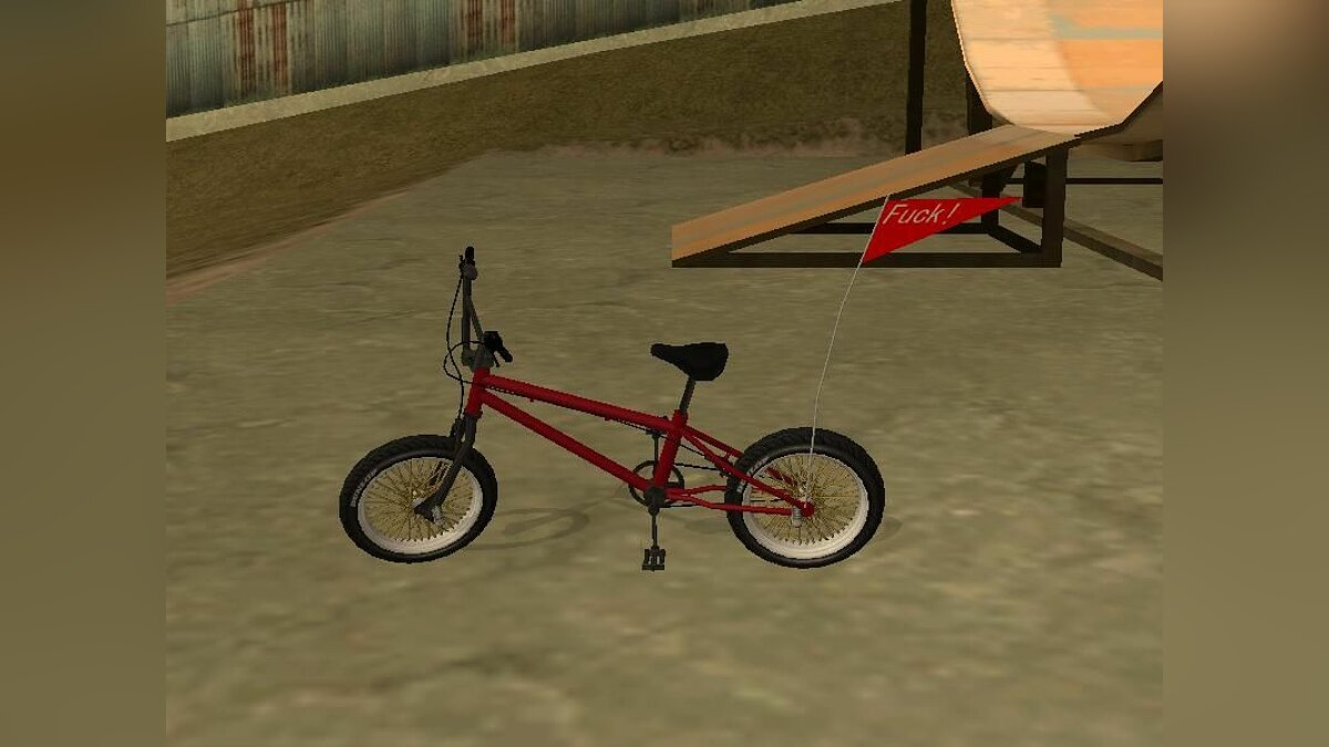 Bicycle New BMX for GTA San Andreas