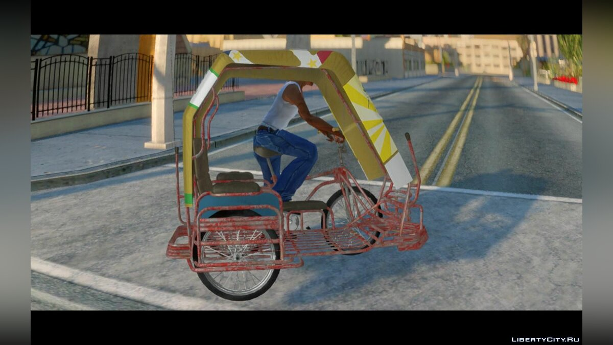 Bicycle Philippines Pedicab Mod for GTA San Andreas