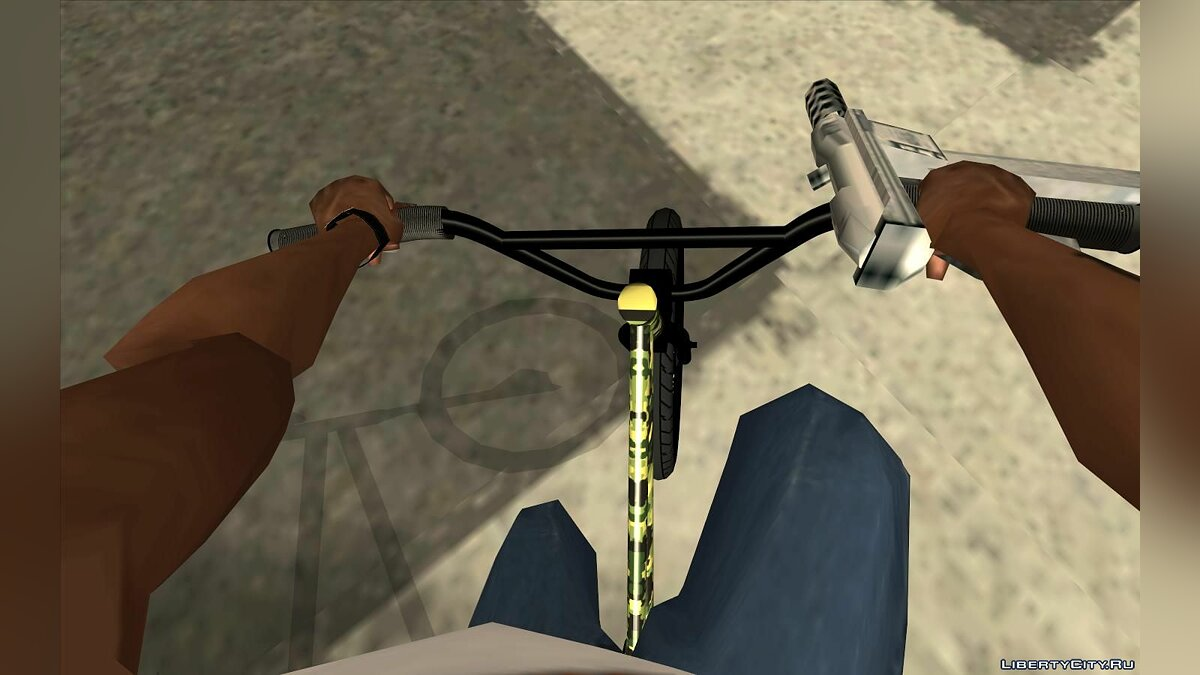 Bicycle BMX Al Piso for GTA San Andreas