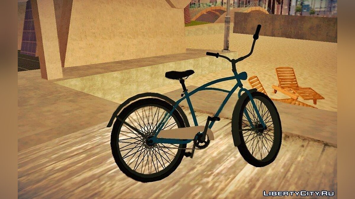 Bicycle GTA V Cruiser Bike for GTA San Andreas