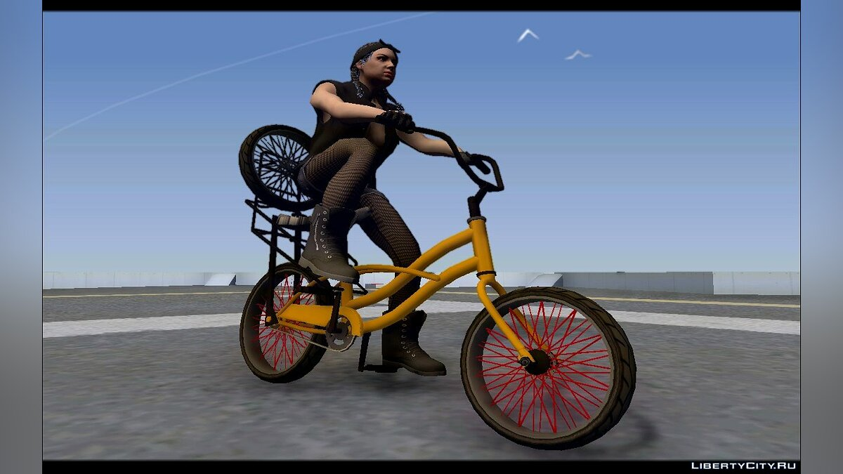 Bicycle GTA SA Bike Enhance for GTA San Andreas