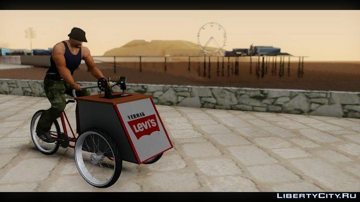 Bicycle Vermak Levis for GTA San Andreas