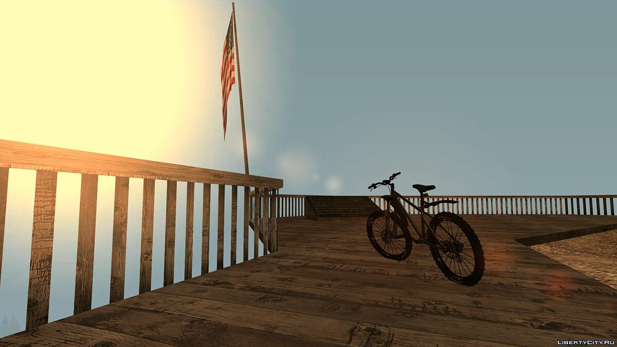 Bicycle GTA V Scorcher for GTA San Andreas