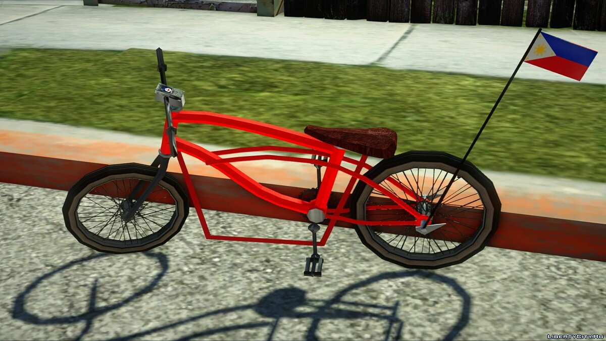 Bicycle Lowered Bike PH V2 for GTA San Andreas
