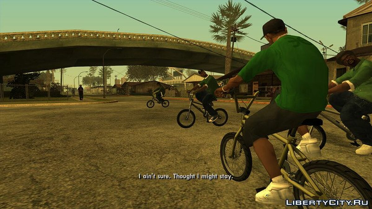 Bicycle GTA V BMX for GTA San Andreas