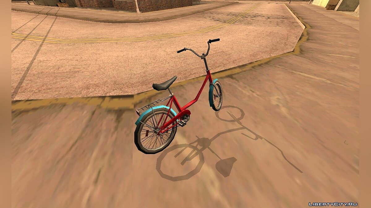 Bicycle Goldfinch for GTA San Andreas