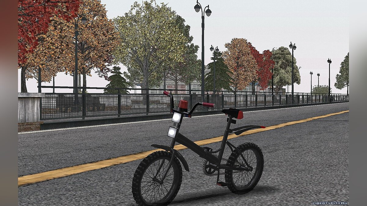 Bicycle Bicycle Stels 410 for GTA San Andreas