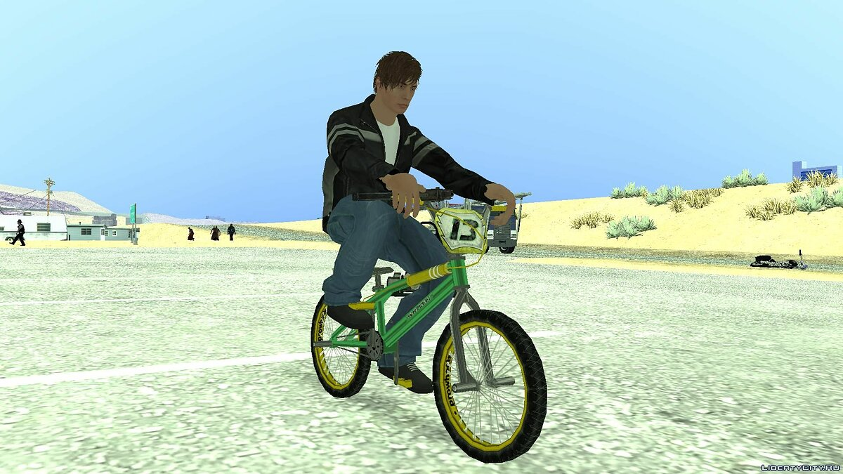Bicycle BMX from the game Bully SE for GTA San Andreas