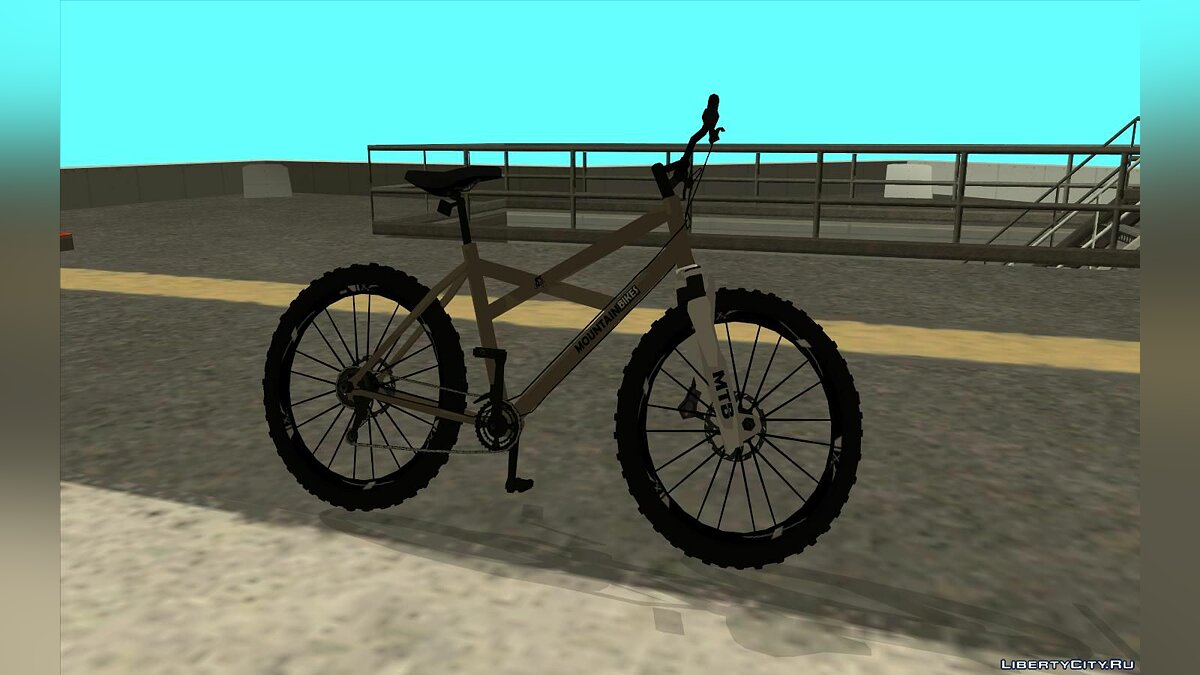 Bicycle MTB Enhance for GTA San Andreas