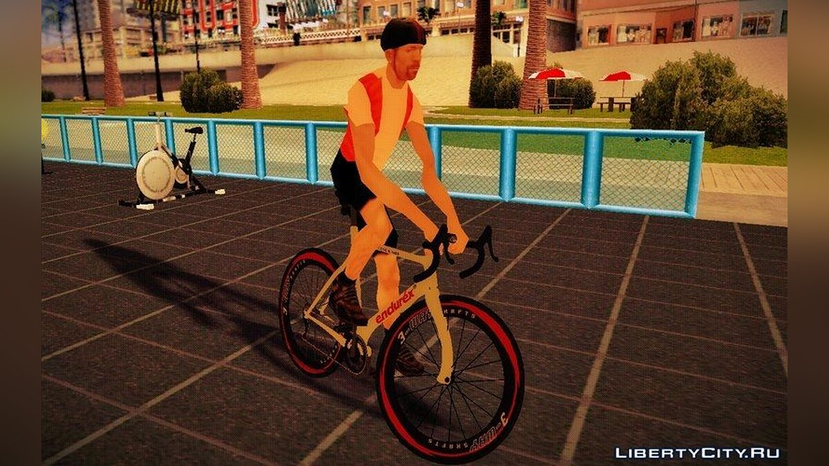 Bicycle GTA V Endurex Race Bike for GTA San Andreas