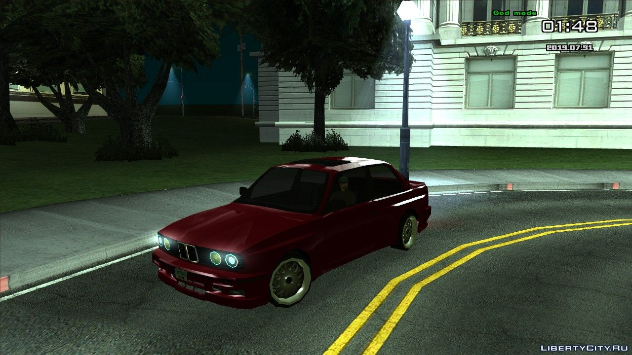 Bmw E30 Fully Tunable For Gta San Andreas