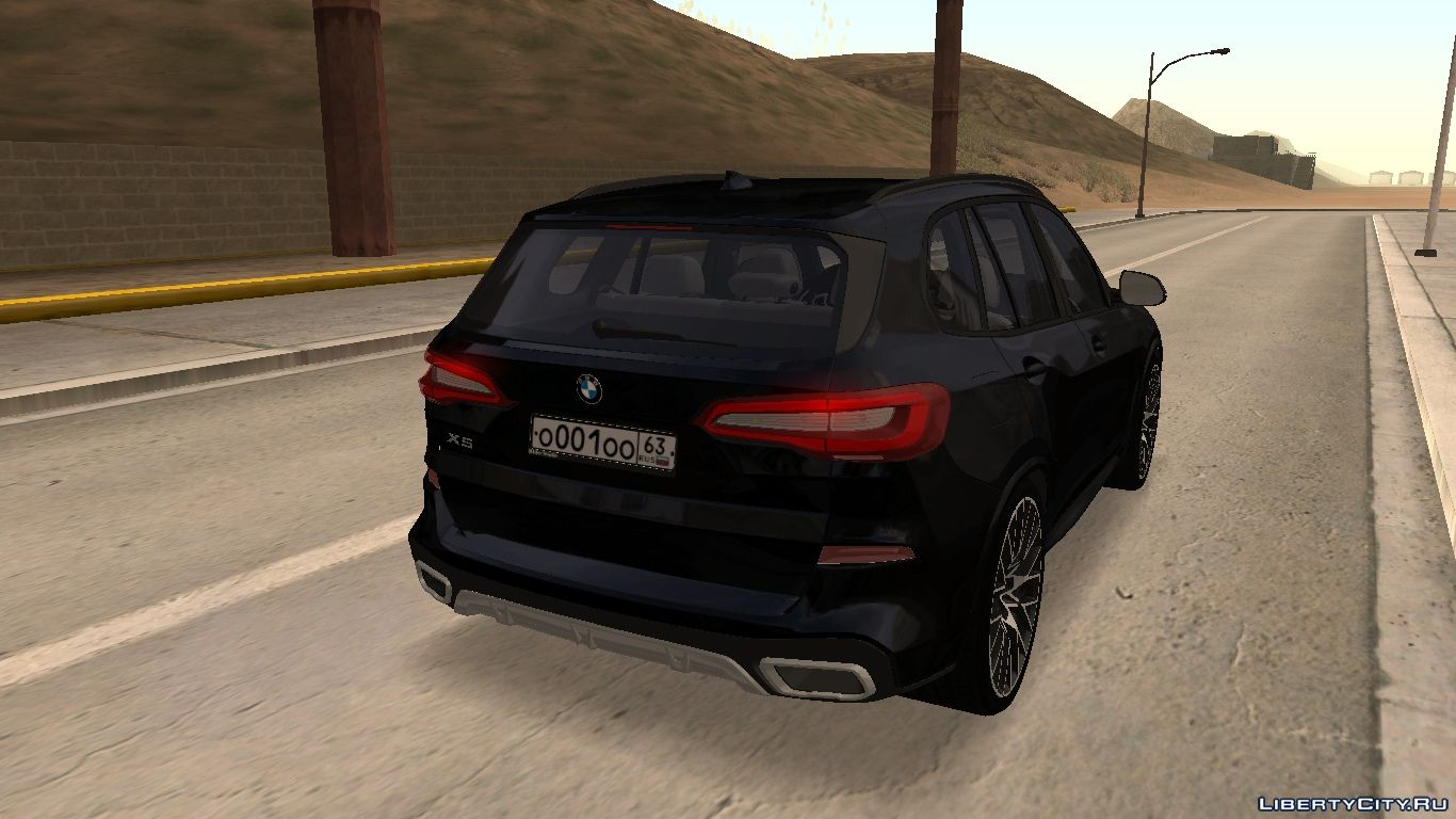 Bmw X5 G05 2020 With Tuning For Gta San Andreas
