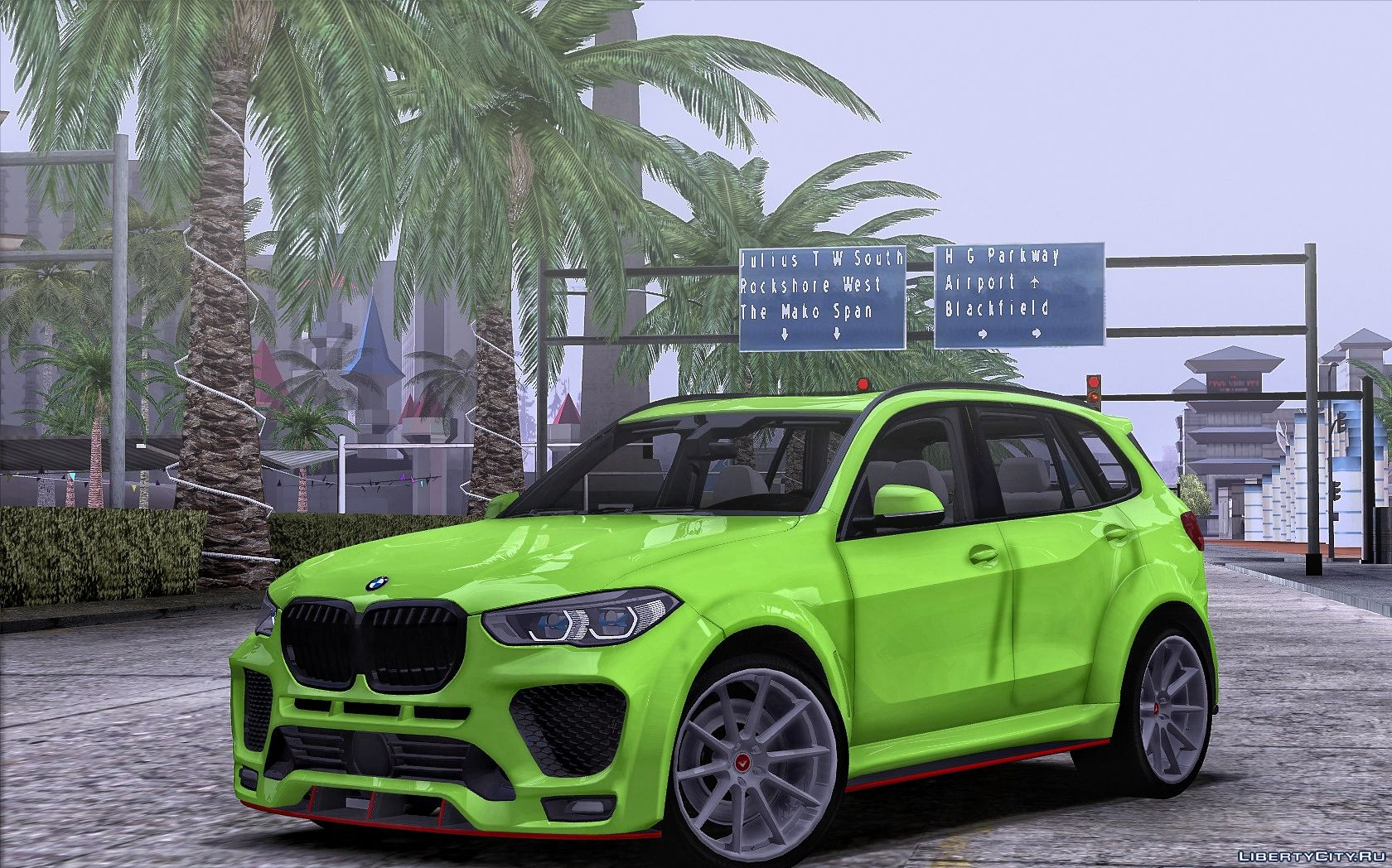 Bmw X5 G05 2020 For Gta San Andreas