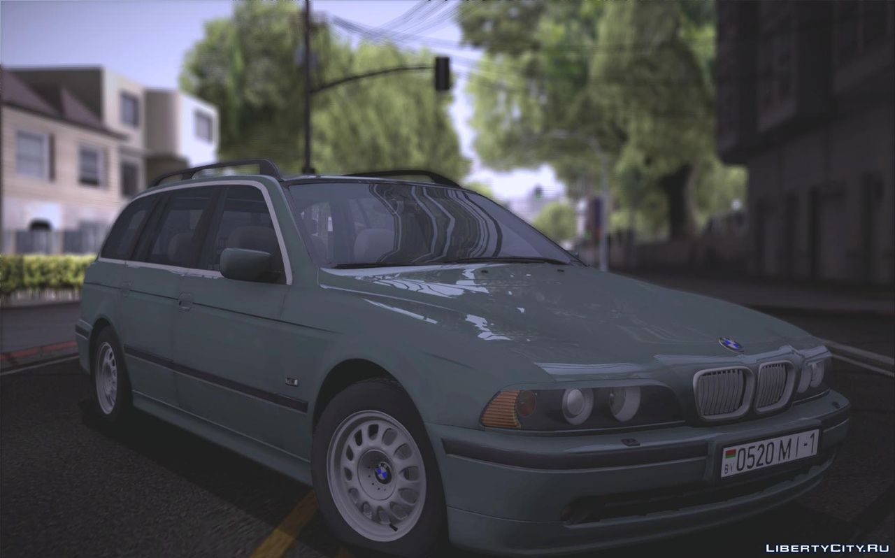 Bmw 540i E39 Touring For Gta San Andreas
